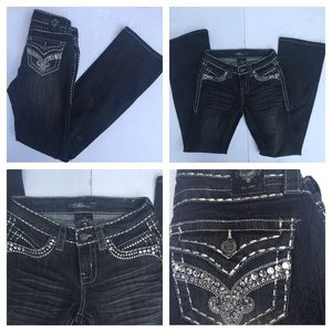 Cello Jeans Lots of Bling / Embellished Size 3